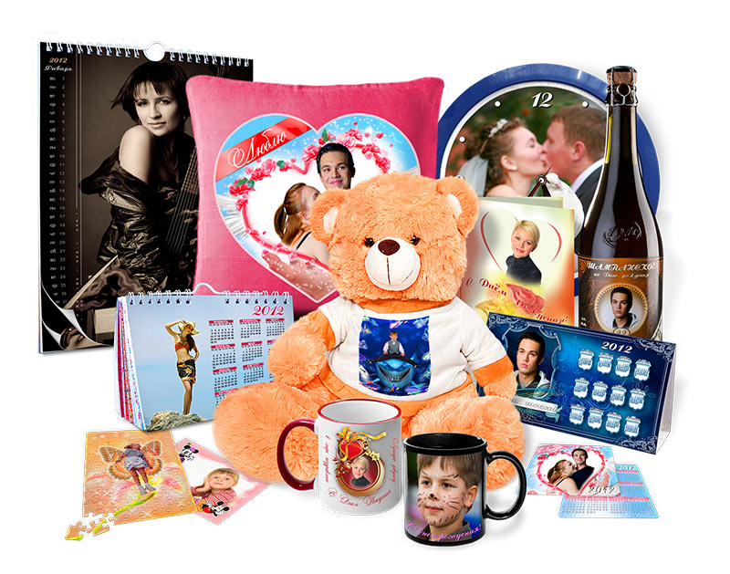 Фото на предметах в подарок 72
